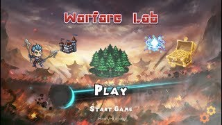 WARFARE LAB Gameplay New OFFLINE Android Strategy Games 2019