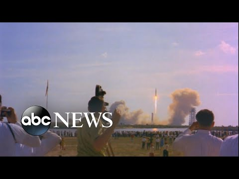 Extraordinary look back as 50th anniversary of the US moon landing approaches