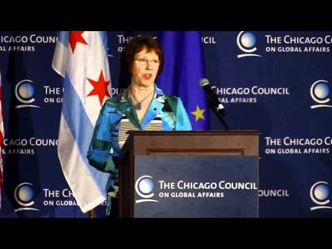 Catherine Ashton at The Chicago Council on Global Affairs