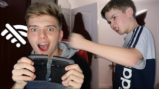surprising my brother