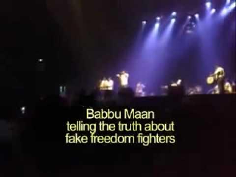 babbu mann talking about  lala lajpat rai From Sethi Soos.3gp