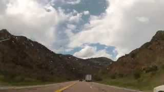 East U.S. Route 50 Colorado Time Lapse  07/25/13
