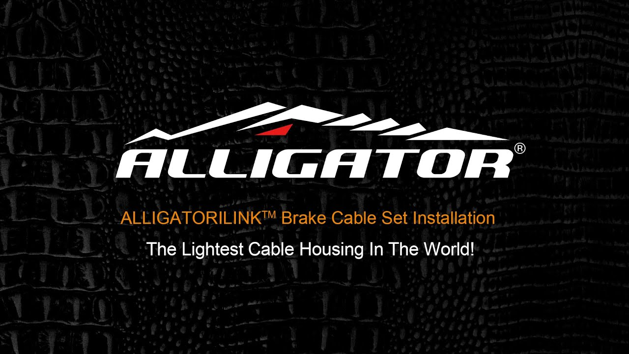 New Alligator I-Link cable set kit Road BRAKE Superior Shine Silver 5mm