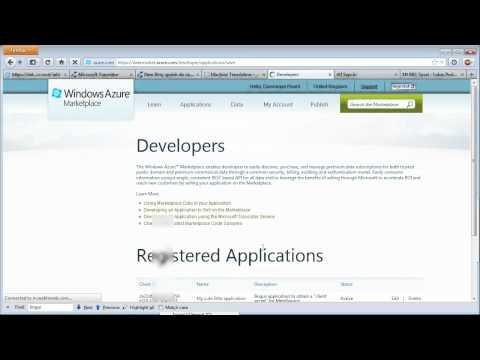 "New Microsoft Translator API With ""access Tokens"""