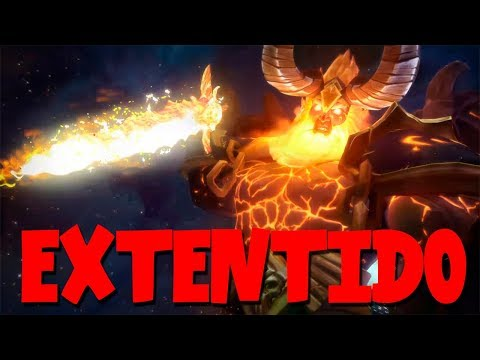 ANTORUS el trono ARDIENTE | EXTENDIDO |