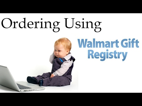 Drop Shipping from Walmart to Amazon | Ordering Using the Walmart Registry When Drop Shipping