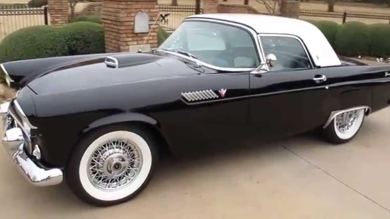1955 Ford t-Bird, body off frame restoration, for sale in Texas ...