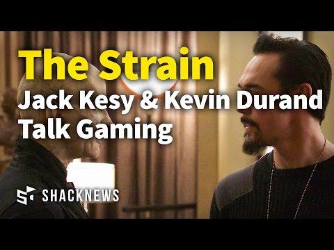 The Strains Jack Kesy & Kevin Durand Talk Gaming