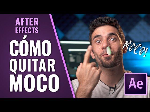 Cómo ELIMINAR un MOCO en vídeo [After Effects]