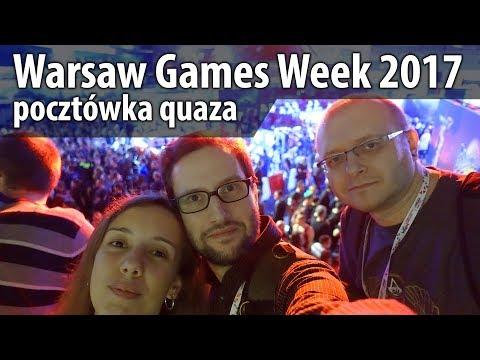 Warsaw Games Week 2017 - pocztówka quaza