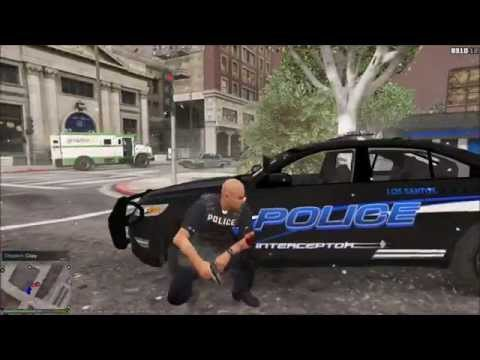 GTA 5 PC LSPDFR - BLIZZARD PATROL