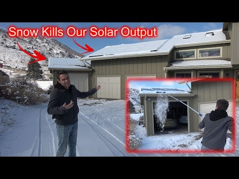 Snow = No Solar Power. How We Fixed That