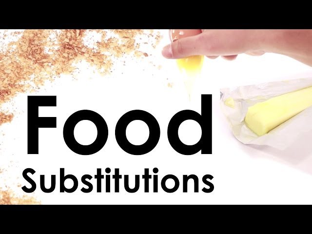 Food Substitutions: Healthy Ingredient Alternatives
