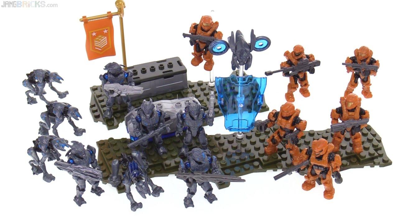 Mega Bloks Halo Promethean Strike Review YouTube