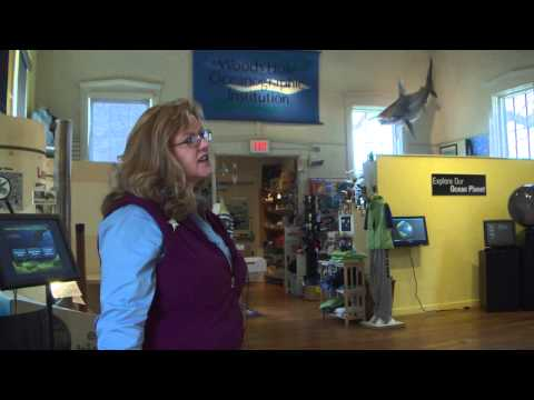 Stroll Through Woods Hole: WHOI Exhibition Center