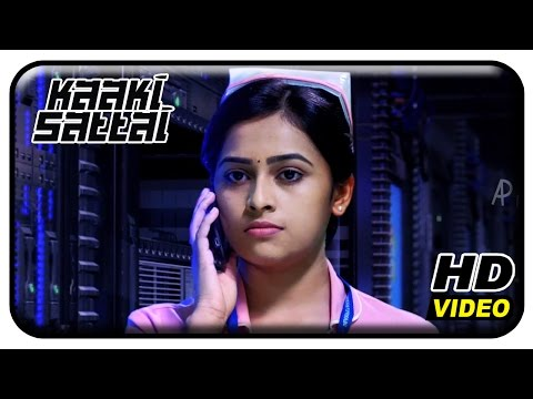 Kaaki Sattai Tamil Movie Scenes | Sri Divya Revealing True Face Of Yog Japee | Sivakarthikeyan