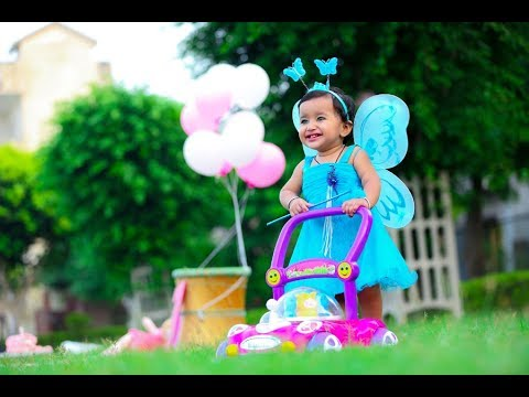 Samaira Pree Birthday Shoot Part 1 By Taj Studio