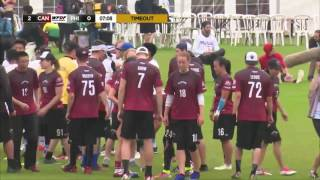 WUGC 2016 - Canada vs Philippines Mixed