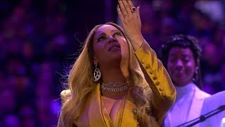 Download Beyonce Live Performance - Kobe Bryant Memorial Service Mp3 and Videos