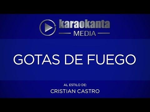 Karaokanta - Cristian Castro - Gotas De Fuego