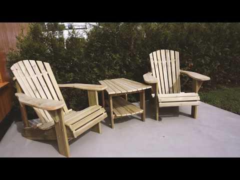 Making Adirondack Chairs With My Grandfather