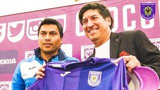 Iván Zamorano visitó a plantel de Deportes Concepción