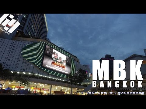 MBK / Shopping in BANGKOK