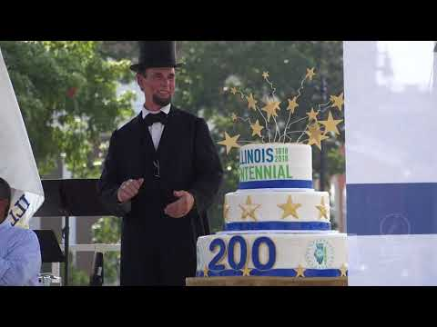 August 26, 2018 - Illinois Bicentennial Plaza Dedication