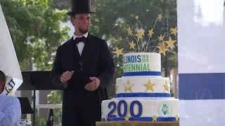 August 26, 2018 - Illinois Bicentennial Plaza Dedication