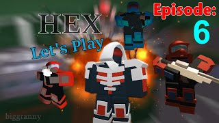 [Double Credits!] HEX ROBLOX | Let's Play #6 w/ Friends Commentary HD