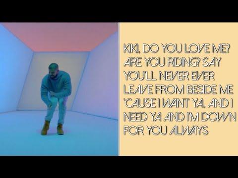 Drake- In My Feelings (Clean Lyrics)