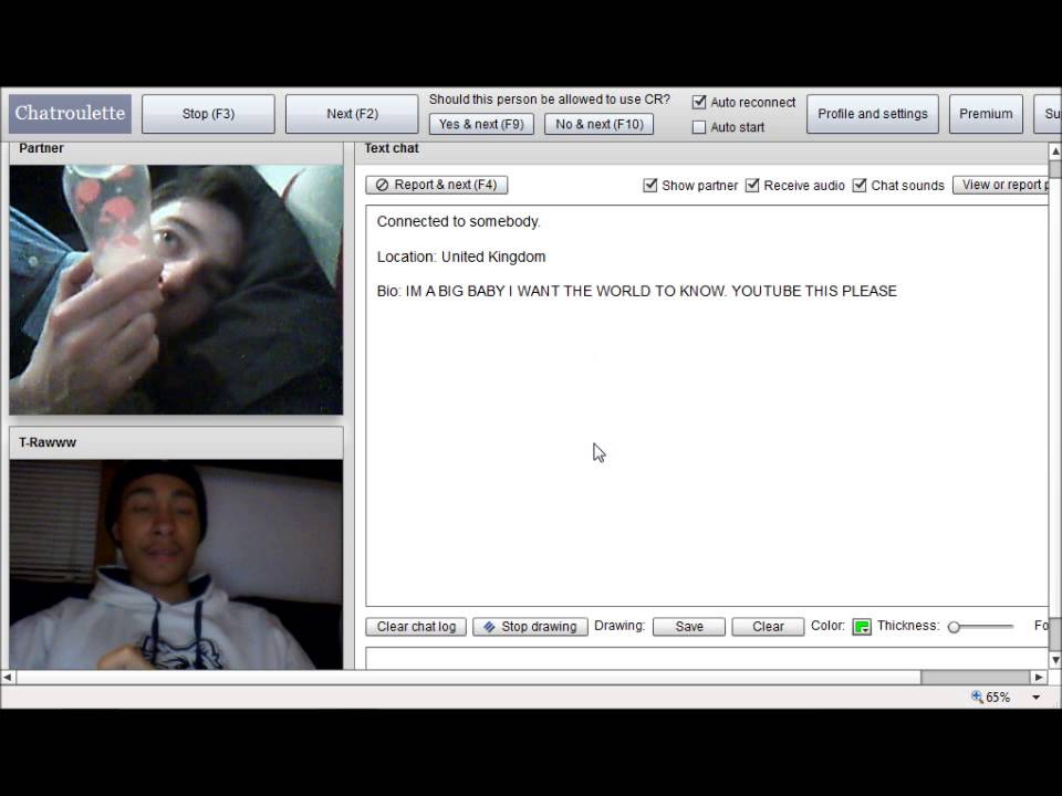 Gay Baby On Chatroulette