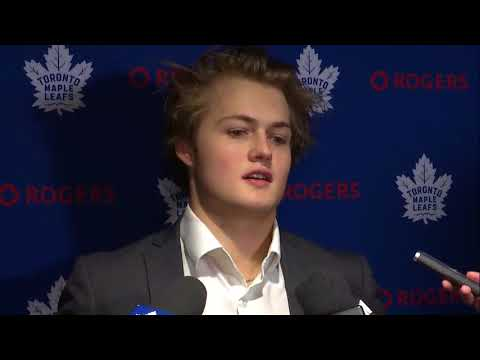 Maple Leafs Morning Skate: William Nylander - March 20, 2018