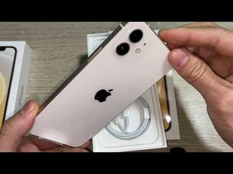 Mở hộp trên tay iPhone 12 128gb trắng chính hãng