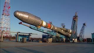 Startvorbereitung der Sojus-2.1b mit Meteor-M №2-1
