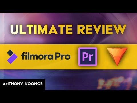 Filmora Pro Vs Premiere Pro Vs Hitfilm: Ultimate Review!