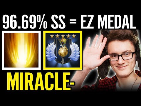 96.69% Sunstrike Ez Medal Miracle Show Off Invoker Skill Dota 2 Pro