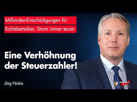 Jörg Nobis (AfD): Energiewende – eine Verhöhnung der Steuerzahler!