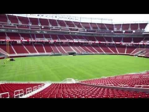 SF 49ers New Home Levi's Stadium | First Look