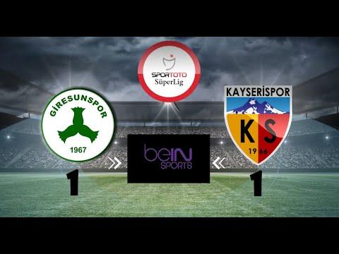 giresunspor kayserispor maç özeti Giresunspor Kayserispor Maç Özeti