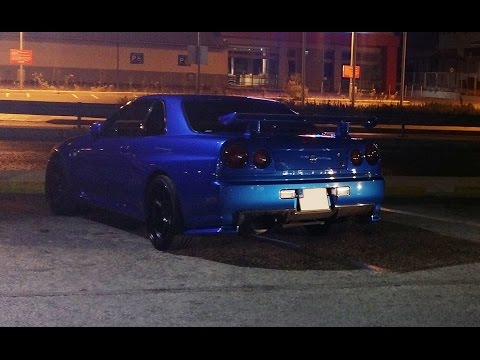 Nissan Skyline R34 Greece
