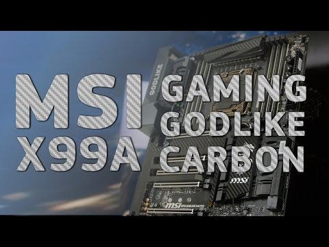 MSI X99A GODLIKE GAMING CARBON - лучшая материнская плата - Вскрываем коробку!!!