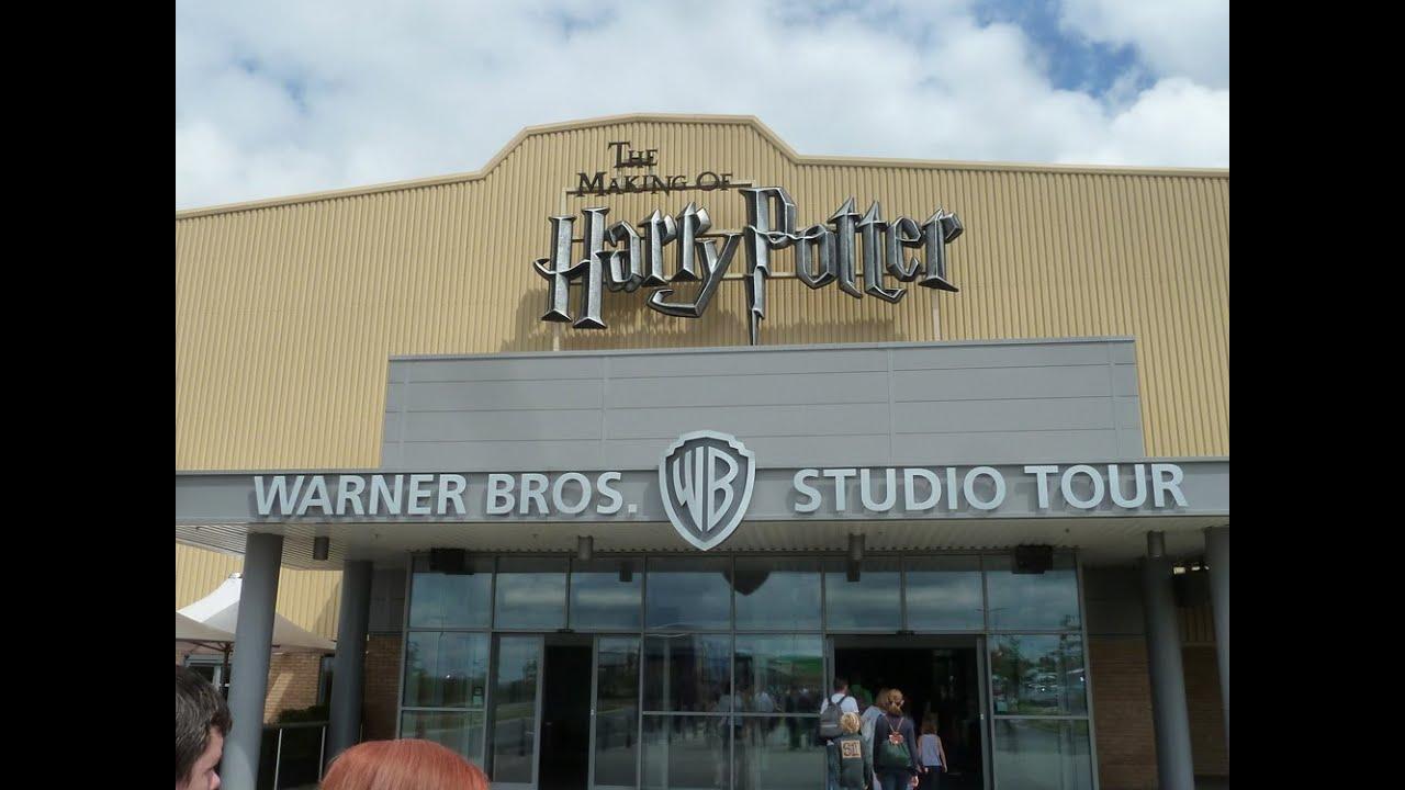 The Harry Potter Studio Tour - Warner Bros. Studio Tour London - FULL EXPERIENCE - YouTube