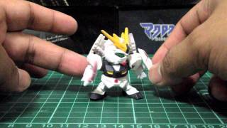 Nu Gundam SD Next III Build + Demo