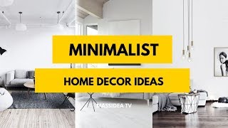 95+ Amazing Minimalist Home Decor Ideas We love!