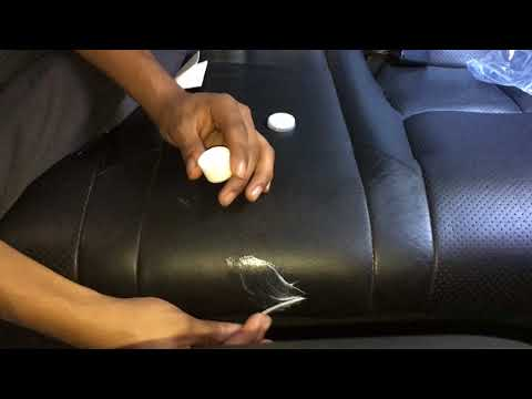 How To Fix Ripped Leather Seats(for Less Than $5!!!)