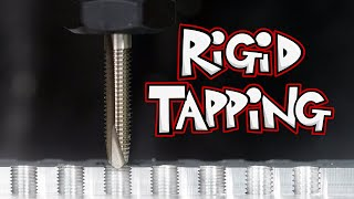 Rigid Tapping with New Motor and VFD (DIY CNC Mill Upgrades 3)