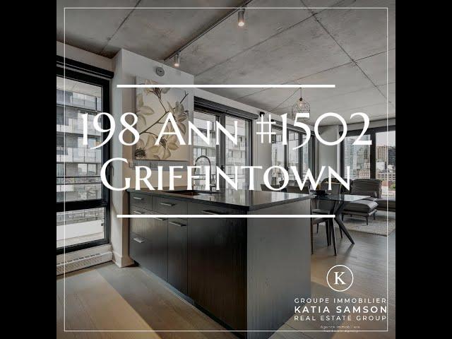 198 Ann #1502, Griffintown 555 000 $