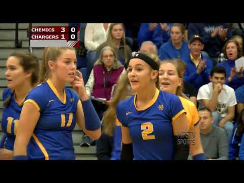 Dow High vs Midland High Volleyball - October 24, 2017