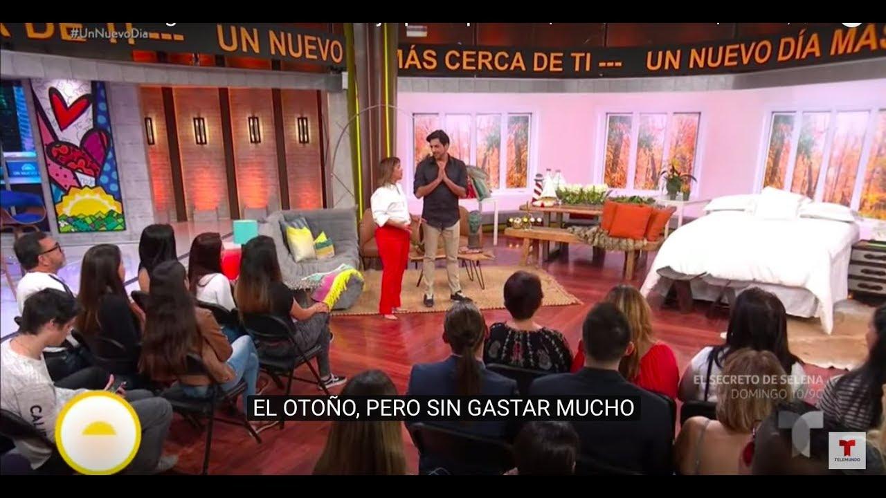 TENDENCIAS DE OTOÑO DECORACIÓN 2019 por Jesus Pacheco en Telemundo